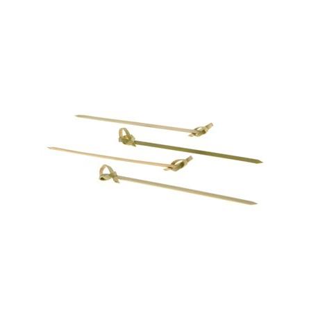 Spiedini Deco Natural Bamboo - 100 pezzi