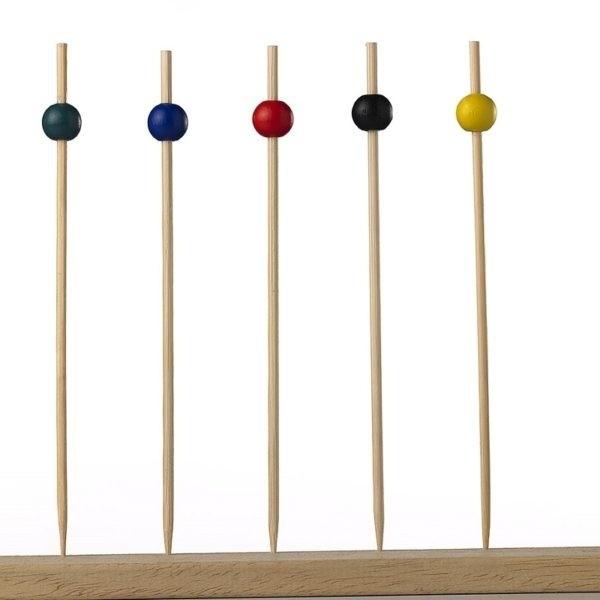 Spiedini Sfera Natural Bamboo - 100 pezzi