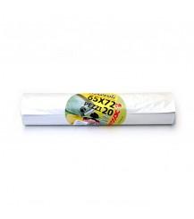 Sacco bidone immondizia Bianco - 65x72