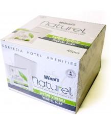Winni's Naturel Sapone vegetale per hotels - 40 pezzi